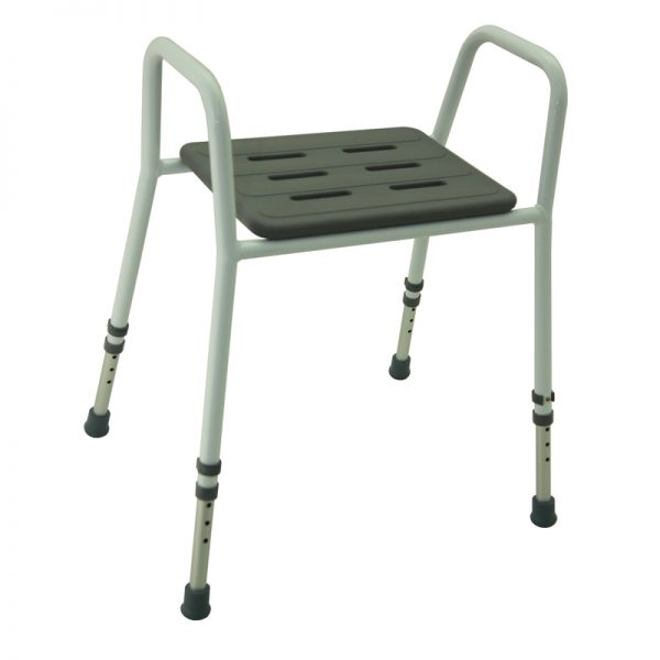 Z-Tec Height Adjustable Shower Stool With Arms ...  sc 1 st  Lifelong Healthcare Ltd & Z-Tec Height Adjustable Shower Stool With Arms and Padded Foam ...